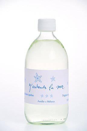 Amélie et Mélanie - J´entends la mer - Náplň do difuzéru 500 ml Lothantique