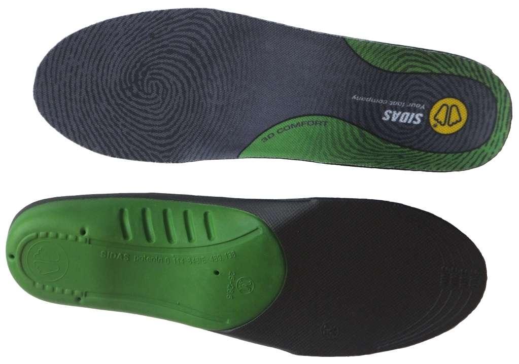 Sidas Sportovní vložky do bot Comfort 3 D pro normální klenbu