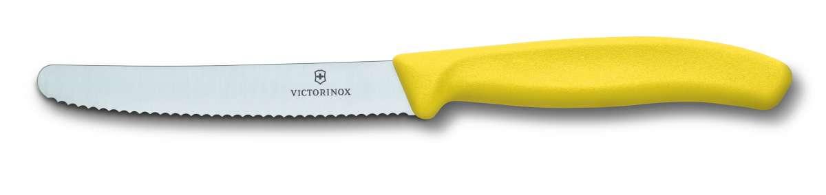 Viktorinox - Nůž na rajčata, snídaňový vlnkové ostří Victorinox