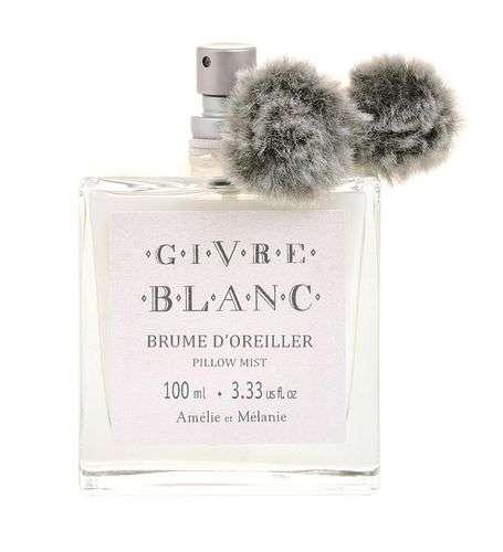 Amélie et Mélanie - GIVRE BLANC Sprej do prádla a na polštář z Provence Lothantique