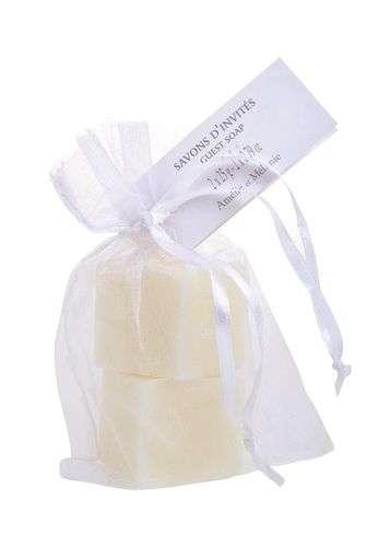 Amélie et Mélanie - Přírodní francouzské mýdlo GIVRE BLANC z Provence 2 x 25g v sáčku Lothantique