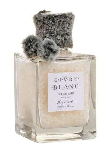 Amélie et Mélanie - Sůl do koupele GIVRE BLANC 500 g z Provence Lothantique
