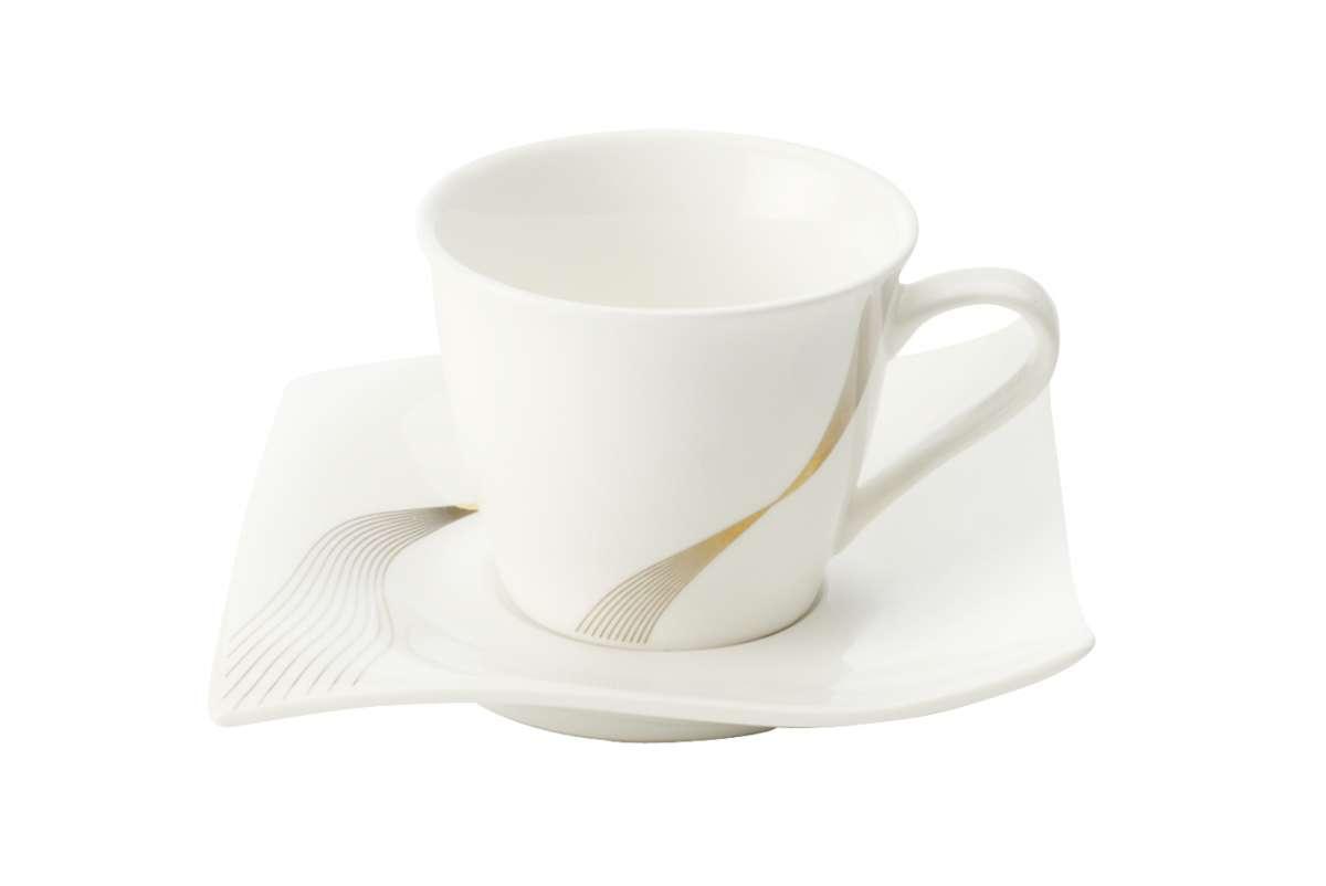 Maxwell & Wiliams Porcelánový demi šálek & podšálek Frequency 110 ml