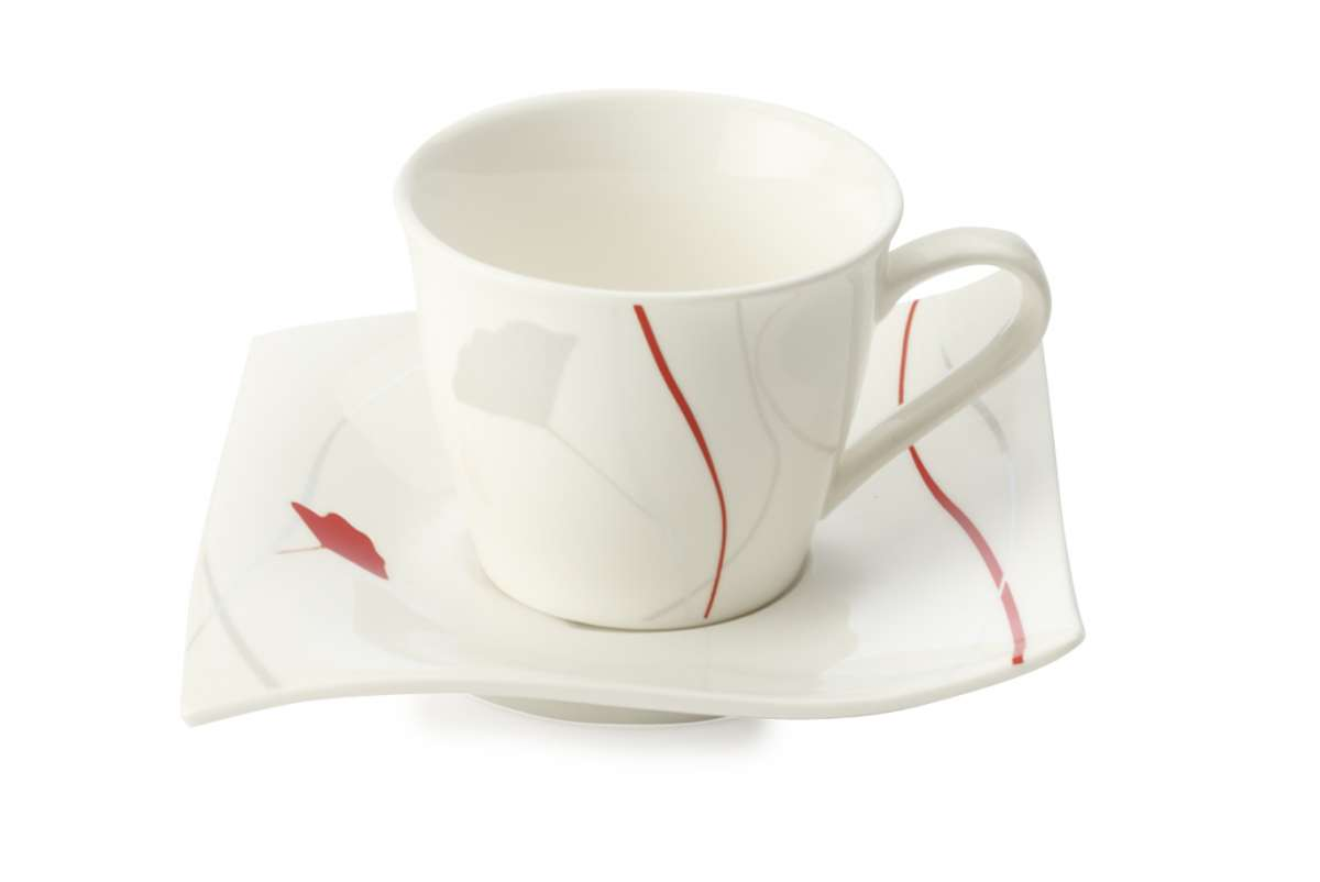 Maxwell & Wiliams Porcelánový demi šálek & podšálek Passion 110 ml