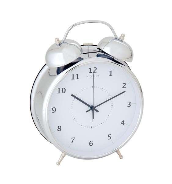 NEXTIME Designový budík 5113zi Nextime Wake Up 20cm