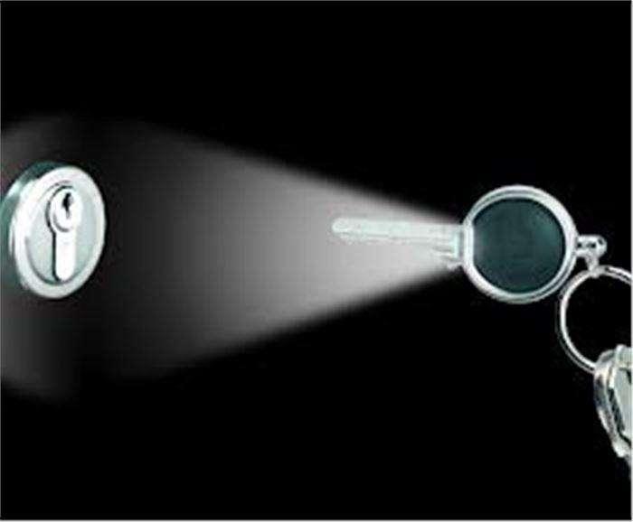 TRUE UTILITY Světlo na klíč Locklite TU250