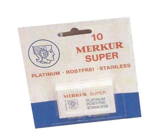 MERKUR Solingen SUPER Platinum - holící žiletky