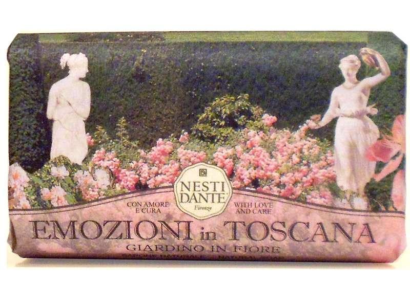 Nesti Dante Mýdlo Emozioni in Toscana - Rozkvetlá zahrada 250g Nesti Dante