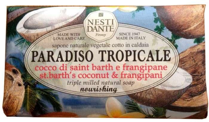 Nesti Dante Mýdlo Paradiso Tropicale - Cocco saint barth & frangipane 250g