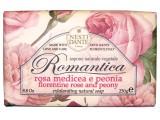 Mýdlo Romantica - růže s pinoňkou 250g Nesti Dante