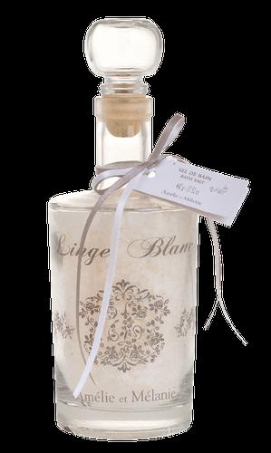 Amélie et Mélanie - Linge Blanc - Sůl do koupele z Provence 440 g Lothantique