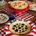Vykrajovátko na koláč - hvězdičky a třešně