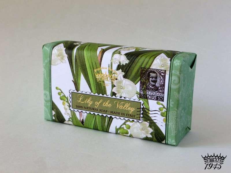 Saponificio Varesino Lily of the Valley - 100% přírodní mýdlo 300 g