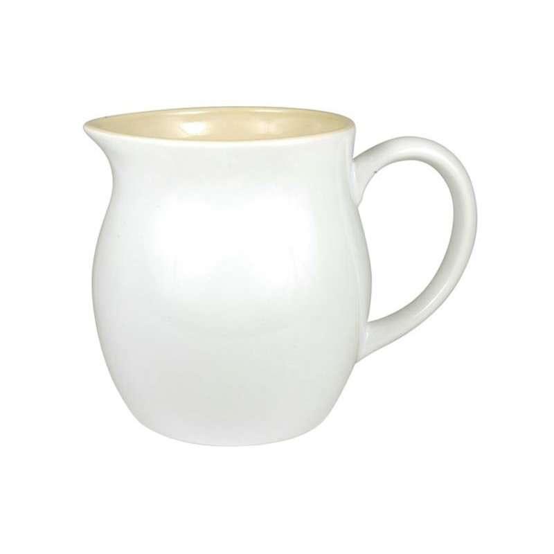 IB LAURSEN Keramický džbán 18 cm Mynte Pure white