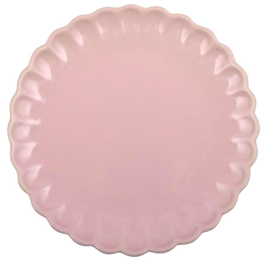 IB LAURSEN Talíř Mynte light pink, průměr 21 cm