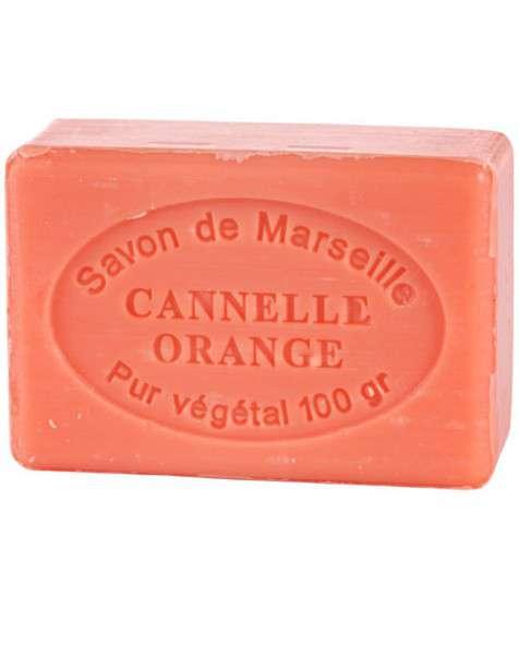 Le Chatelard Mýdlo - Pomeranč a skořice (Cannelle Orange), 100g