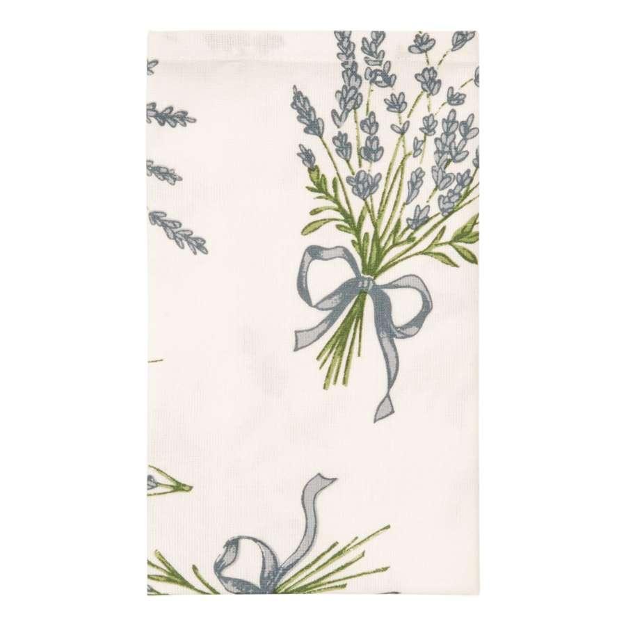 Clayre & Eef Látkové ubrousky Bouquet de Lavande 40 x 40 cm - sada 6 kusů
