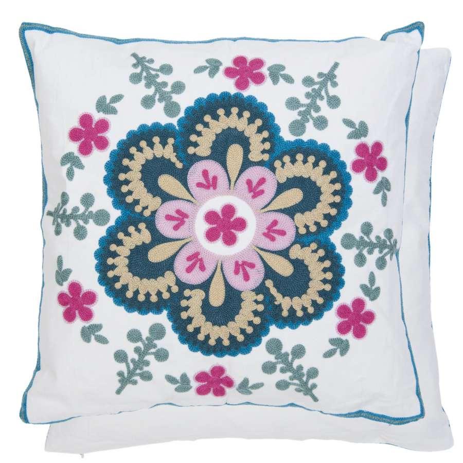 Clayre & Eef Povlak na polštář multi colour květ MU 45 x 45 cm