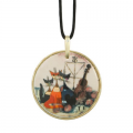 Náhrdelník Musica romantica 5,5 cm, porcelán