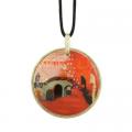 Náhrdelník Ponte Veneziano 5,5 cm, porcelán