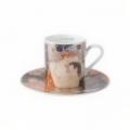 Šálek a podšálek espresso 6 cm / 0,1 l, Tři období života ženy, G. Klimt