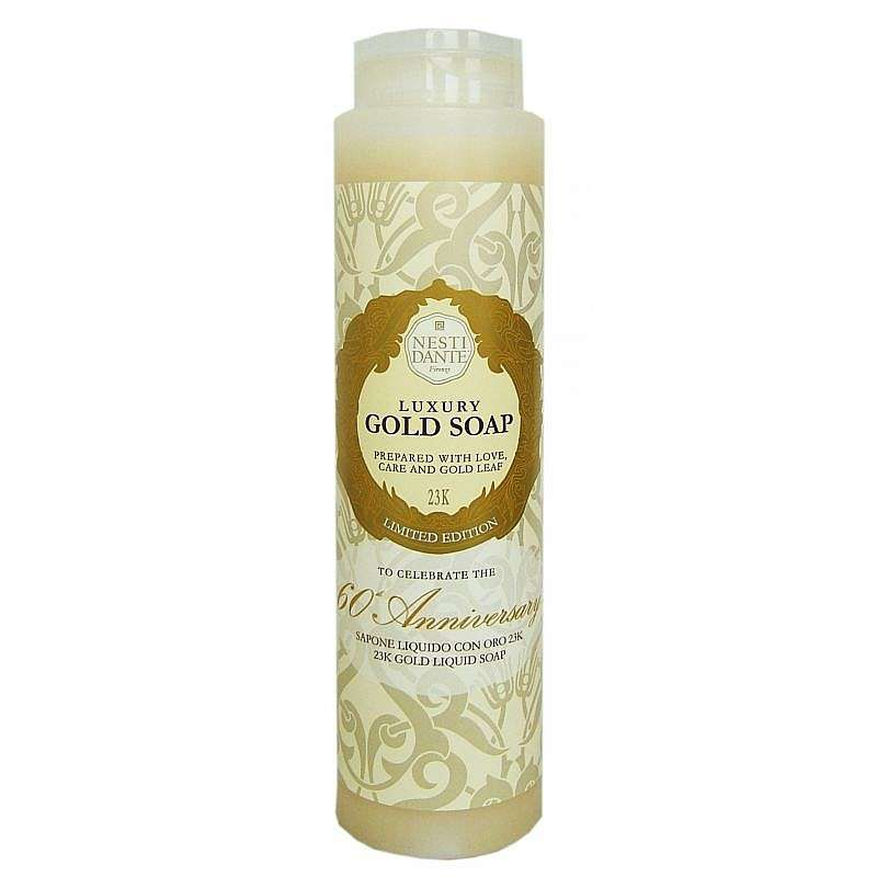Nesti Dante Luxusní Zlatý sprchový gel 2v1 - 24 karátového zlata Nesti Dante 300 ml