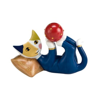 Rosina Wachtmeister Porcelánová kočka Bella palla di Graziano 8 cm Goebel