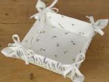 Látkový košík na pečivo Lavinia 20 x20 cm