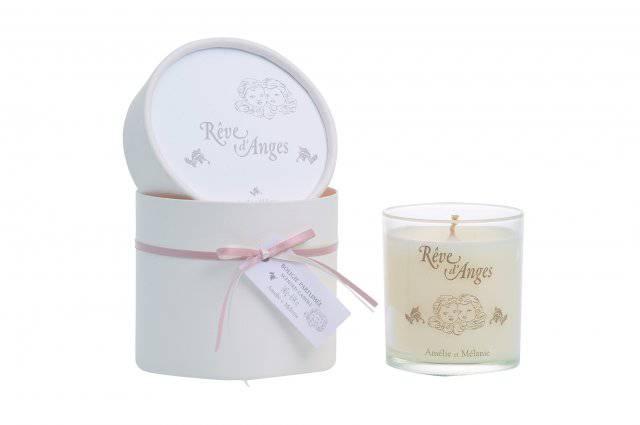 Amélie et Mélanie - Réves ď Anges - Dárková vonná svíčka z Provence Lothantique