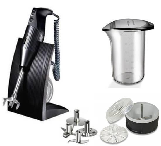 BAMIX Swissline Mixer M200 černý