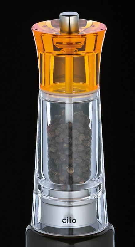 Cilio Genova mlýnek na pepř oranžový