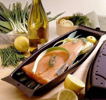 Nordic Ware Pánev na grilování masa a ryb