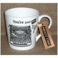 Porcelánový hrnek Typewriter