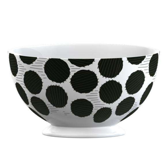 Creative Tops Porcelánová miska Black Spot