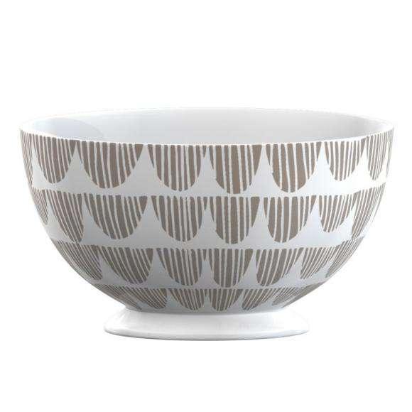 Creative Tops Porcelánová miska Taupe Bunting