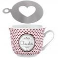 Porcelánový hrnek Hot Chocolate