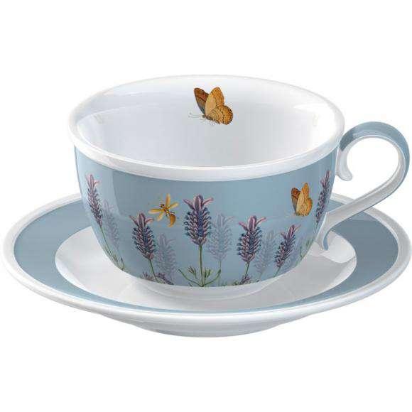 Creative Tops Porcelánový šálek s podšálkem Lavender