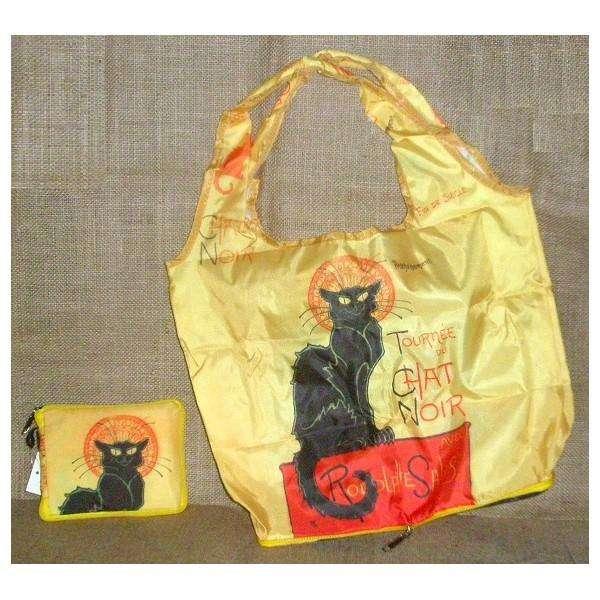 Fridolin Chat Noir skládací nákupní taška Envirosax