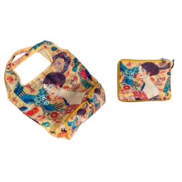 Fridolin Klimt skládací nákupní taška