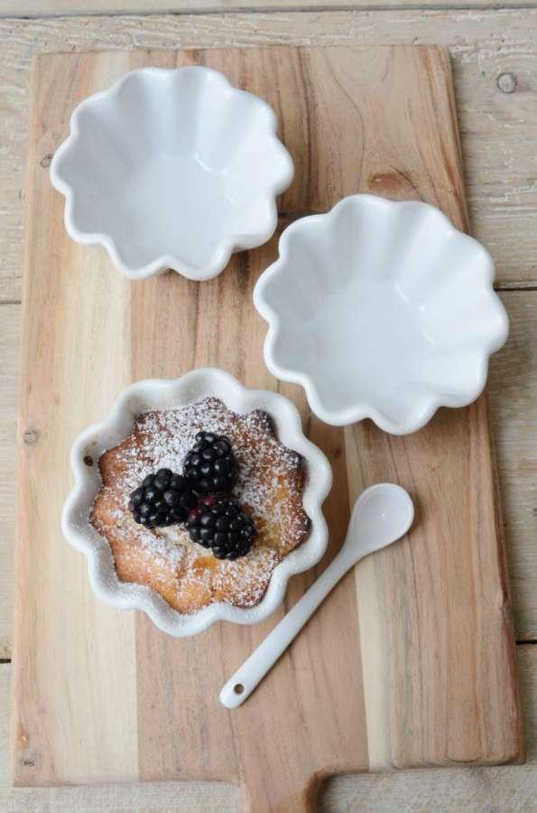 IB LAURSEN Keramická forma na muffiny Mynte white