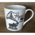 Porcelánový hrnek Gramophone