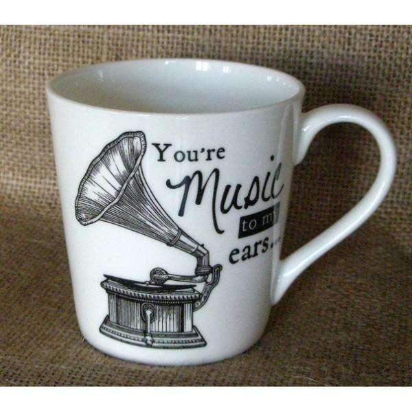 Churchill Porcelánový hrnek Gramophone 0,3l