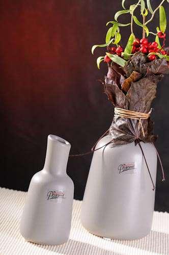 Paramit Iva váza šedá 13 cm Paramit