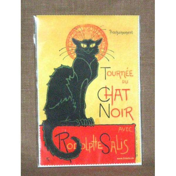 Fridolin Chat Noir Chat Noir utěrka na brýle