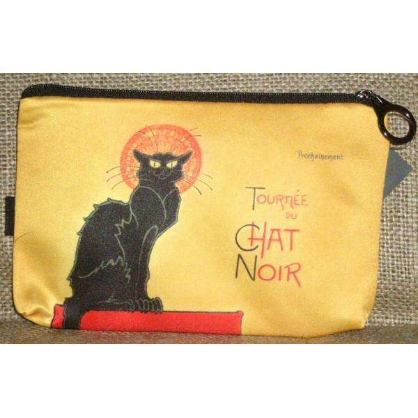 Fridolin Chat Noir etue kosmetická taštička motiv