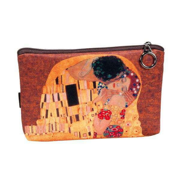 Fridolin Klimt Polibek kosmetická taštička motiv A