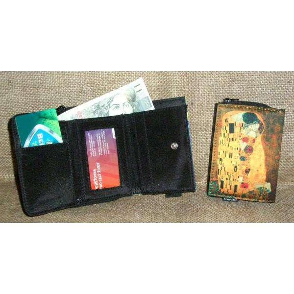 Fridolin Klimt Polibek peněženka