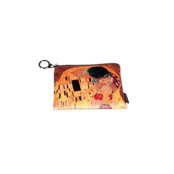 Fridolin Klimt Polibek peněženka malá