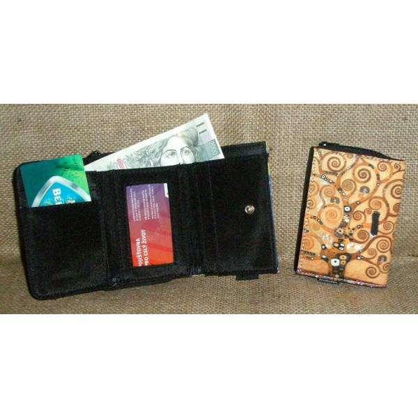 Fridolin Klimt Strom života peněženka