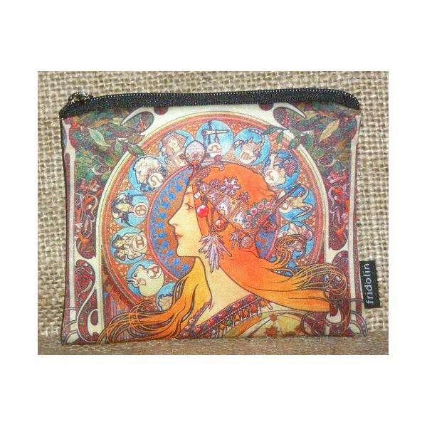 Fridolin Mucha Zodiak peněženka malá